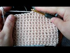 Learn how to create the Crochet Bead Stitch. The bead stitch is similar to a puff stitch but it is worked around Linen Stitch Crochet, Ribbed Crochet, Crochet Motifs, Crochet Stitches Patterns, Tunisian Crochet, Learn To Crochet, Crochet Doilies, Crochet Baby, Knitting Patterns
