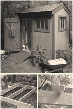 Free Diy Building Plans For A 6x8 Garden Tool Shed From Por Mechanics Magazine