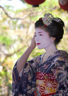 Kagai in October #7 (by Onihide) Maiko Umeyae 梅やえ