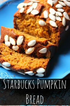So Simple and Easy To Make ! Almost everything needed to make this bread is in your kitchen RIGHT NOW! Starbucks Pumpkin Bread Recipe #starbucks #bread #recipe #budgetsavvydiva via budgetsavvydiva.com