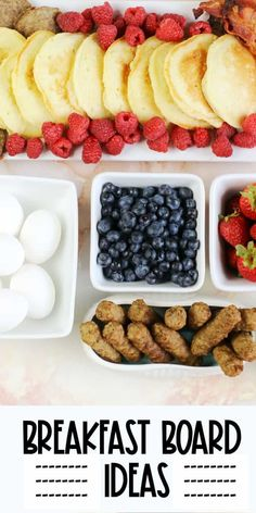 This easy Pancake Board is perfect for a weekend breakfast or brunch, It really doesn't take any extra time, but the presentation makes for a fun morning spread.