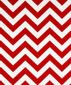 Zig Zag Lipstick / White   Online Discount Drapery Fabrics and Upholstery Fabric Superstore!