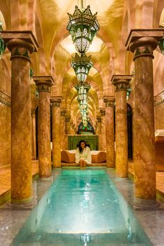 A Royal Hammam Experience in Marrakech at La Sultana — No Destinations The Effective Pictures We Offer You About resort Hotel A quality picture can tell you many things. Morocco Hotel, Morocco Travel, Marrakech Morocco, Marrakesh, Piscina Hotel, Casa Retro, Piscina Interior, Indoor Swimming Pools, Lap Pools