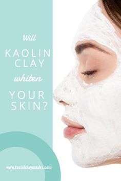 "Kaolin clay is a pure white clay, so the question I get often is ""How does Kaolin Clay Whiten Skin"". Is this even a thing? We will delve into this and compare how kaolin clay whitens VS brightens. #kaolin #clay #white #whiteclay #brightening #whiten #whitening #brighten #claymask #skincare"