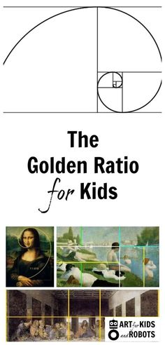 A great way to get kids excited about math is by showing them the golden ratio. Here I focus on the golden ratio for kids in art.