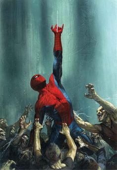 Spider-Man by Gabriele Dell'Otto                                                                                                                                                                                 More