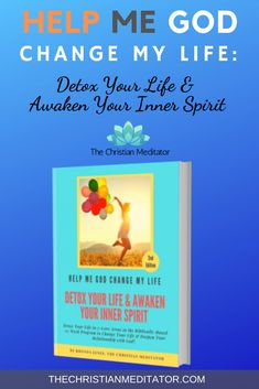 Detox Your Life and Awaken Your Inner Spirit is a 12-Week Biblically-Based Program Designed to Help  Your Transform Your Life in seven core areas: mind, emotions, spirit, body, home, relationships,  schedule, and vision.  Change your life one day at at time with daily lessons and meditations.  Premium Course and Book. #christianmeditation  #books #courses #audios #morningroutine #scripturemeditation #drawingclosertogod  #godspresence #physicalhealing #lettinggoofthepast #emotionalhealing