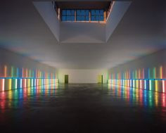 January February 2013 Issue Photo - The Dan Flavin Installation in the Menil Collection's Richmond Hall