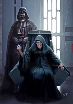 Lord Vader and Lord Palpatine