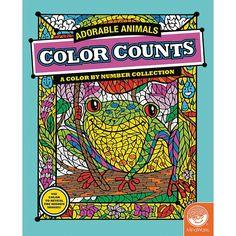 Mindware® Color Counts - Adorable Animals - OrientalTrading.com