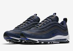 The Obsidian Air Max 97 drops on January Nike Air Max, Air Max 97, Converse, Vans, Reebok, Air Max Sneakers, Sneakers Nike, Latest Shoe Trends, Adidas