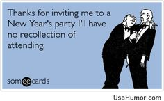 Funny invite new year party 2015