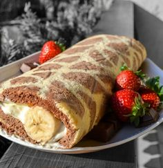 Giraffenroulade French Toast, Breakfast, Ethnic Recipes, Food, Backen, Morning Coffee, Meal, Essen, Hoods