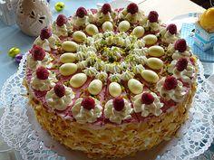 Himbeer - Topfen - Torte, ein schönes Rezept aus der Kategorie Backen. Bewertungen: 13. Durchschnitt: Ø 4,3.