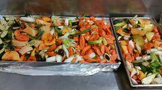 Légumes prêts à rotir