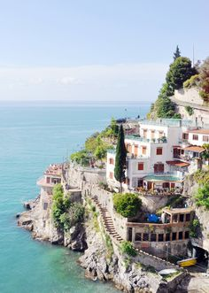 The Amalfi Coast, Italy www.mediteranique.com/hotels-italy/