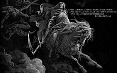 Quotes Bible Gustave Dore Block Print Four Horsemen #quotes #wallpapers #backgrounds