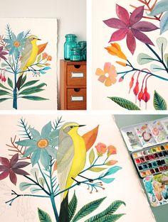 I find her work so insanely inspiring. http://blogdelanine.blogspot.com