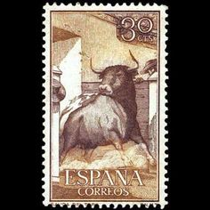 1960 29 de febrero. Fiesta Nacional: Tauromaquia. World Wild Life, Brave Animals, Stamp Collecting, Postage Stamps, Art Forms, Madrid, Decoupage, Old Things, Poster
