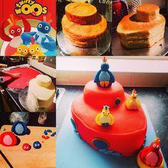 Twirlywoos birthday cake ☺️. ️Xx