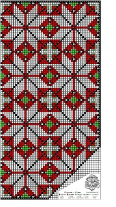 Cross Stitch Charts, Cross Stitch Patterns, Diy And Crafts, Arts And Crafts, Art Crafts, Palestinian Embroidery, Bead Crochet Rope, Crochet Stitches, Embroidery Patterns