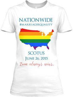 Nationwide Marriage Equality 6/26/15