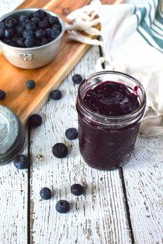 3 Ingredient Blueberry Chia Jam