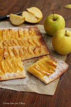 Apple Recipes, Sweet Recipes, Real Food Recipes, Cake Recipes, Dessert Recipes, Cooking Recipes, Yummy Food, Strudel, Apple Deserts