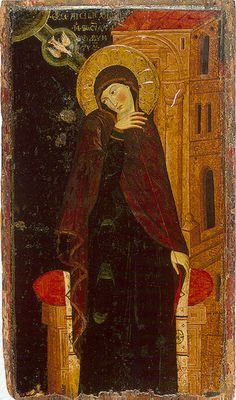 virgin from the annunciation 14s