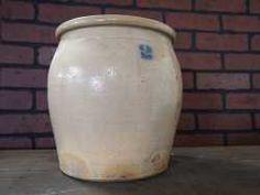 2 Gallon Stoneware Crock Stoneware Crocks, Auction, Jar, Decor, Jars, Decorating, Dekoration, Deco, Decorations