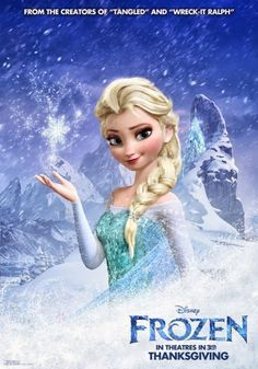Disney Releases New Character Posters for 'Frozen'.