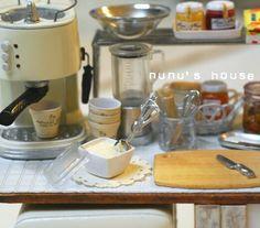 *アイスクリーム* - *Nunu's HouseのミニチュアBlog* 1/12サイズのミニチュアの食べ物、雑貨などの制作blogです。