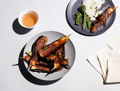 Satisfy your spicy eggplant craving without the sugar-y, gluten-y sauce. This recipe is dead simple, and it's the perfect hearty veg to round out your DIY Chinese take-out night.