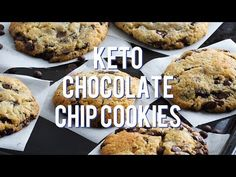 Keto Chocolate Chip Cookies - Best Low Carb Super Soft Cookies