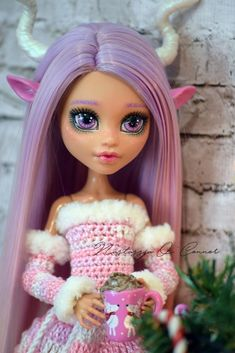 Monster High OOAK Howleen Wolf Custom Doll Repaint #Mattel
