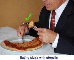 Brazil - Pizza and burgers are normally eaten with a knife and fork Comment Dresser Une Table, Cross Cultural Communication, Dining Etiquette, Etiquette And Manners, Table Manners, Burgers, Fork, Brazil, Pizza