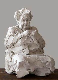 & # Making of & # Elly Gertzen - Statuen - Pottery Sculpture, Sculpture Clay, Abstract Sculpture, Pottery Art, Ceramic Painting, Ceramic Art, Ceramic Sculpture Figurative, Afrique Art, Sculptures Céramiques