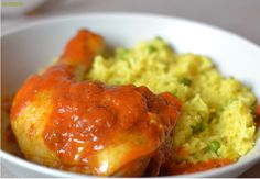 RECIPES carry poulet et riz jaune
