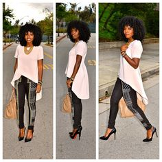 Love thus top with skinny pants