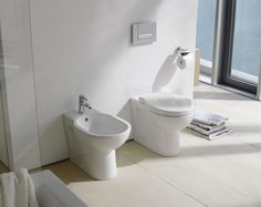 Norman Foster has created a style-forward bathroom range befitting of his design credentials. The sanitaryware is modelled on the archetype of two cupped hands scooping fresh water. http://www.cphart.co.uk/view-our-brochures/ #bathrooms #bathroomideas