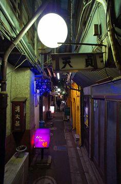 夜散歩のススメ「呑んべ横丁」東京都葛飾区