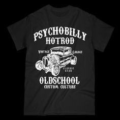 Psychobilly Hot Rod is available now in our store, go check it out! http://tshirtboost.com/products/psychobilly-hot-rod?utm_campaign=social_autopilot&utm_source=pin&utm_medium=pin