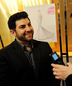 Arab American Fashion Designer Oday Shakar Dresses Hollywood
