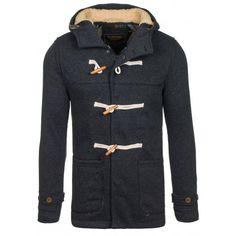 Pánský sportovně elegantní kabát černé barvy - manozo.cz Nike Jacket, Athletic, Sport, Jackets, Fashion, Down Jackets, Moda, Deporte, Nike Vest
