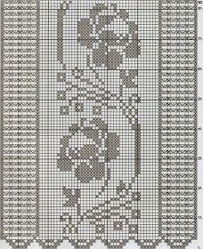 Kira scheme crochet: Scheme crochet no. Fair Isle Knitting Patterns, Crochet Square Patterns, Crochet Motif, Crochet Lace, Free Crochet, Thread Crochet, Crochet Stitches, Embroidery Stitches, Crochet Hooks