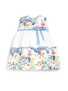 Luli and Me Infant's Floral Dress