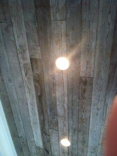 Reclaimed wood ceilings?