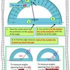 How to Use a Protractor Freebie