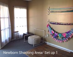 Studio Space- backdrop storage- prop storage. Amanda Puskar Photography, Panama City Beach, FL www.amandapuskarphotography.com