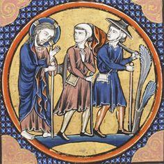 Road to Emmaus, medieval Road To Emmaus, Biblical Art, Celtic, Catholic, Medieval, Christ, Literature, Mermaid, Literatura